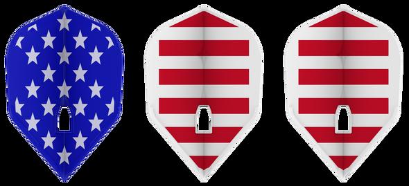 L-Style L3 Pro - American Flag Champagne Flights