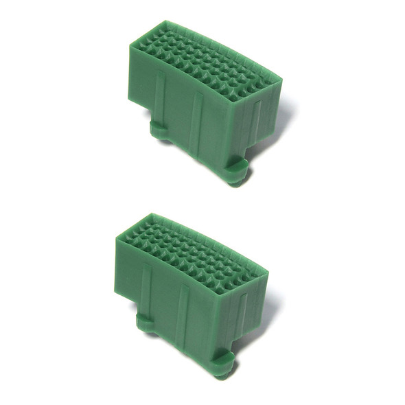 SEGMENT TRIPLE 2PCS Green