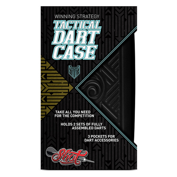 Shot! Tactical Dart Case - Black
