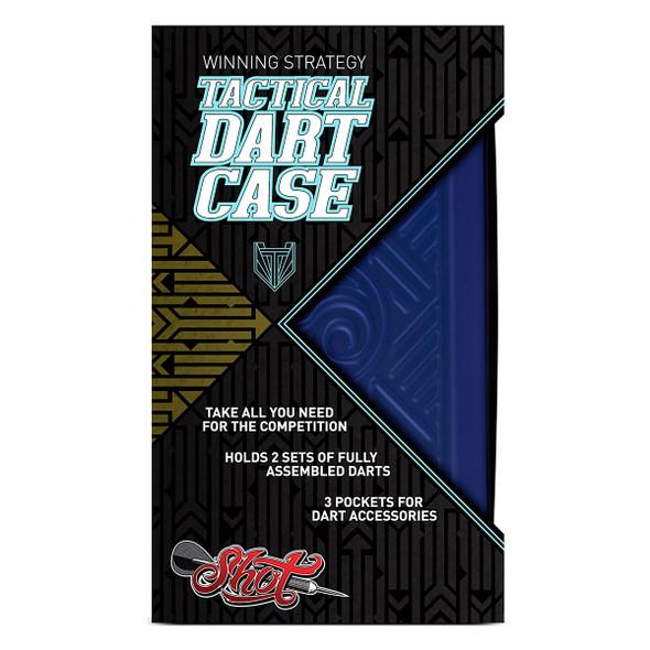 Shot! Tactical Dart Case - Blue