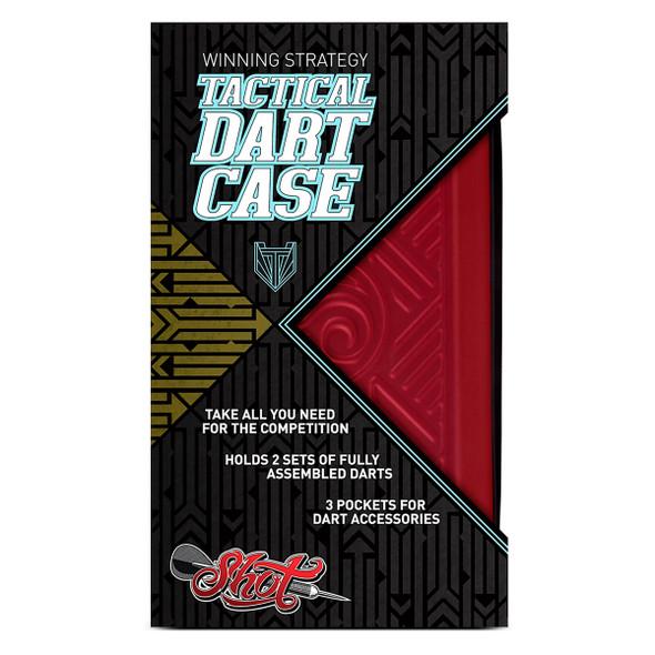 Shot! Tactical Dart Case - Red