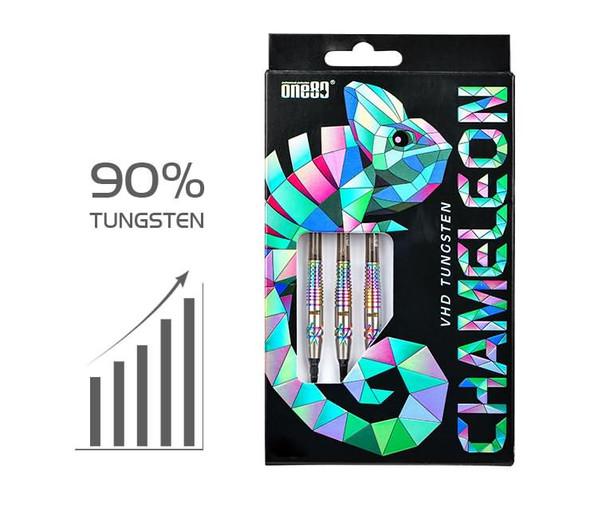 ONE80 SUNNY VHD tunsgsten Chameleon -  Soft Tip Darts 20g