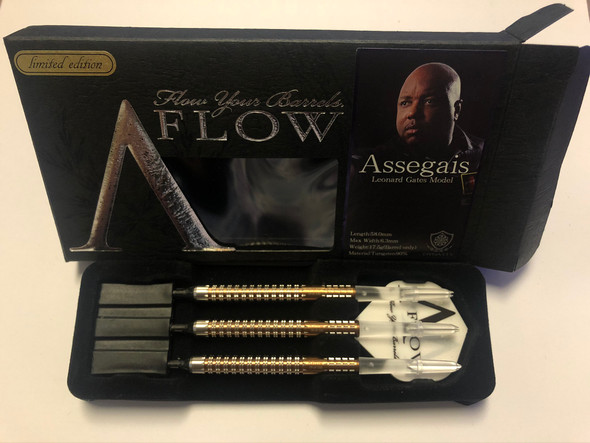 "Dynasty""The Assegais""  Limited Edition BRONZE Soft Tip Darts 17.5g"