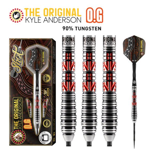 SHOT Kyle Anderson O.G Steel Tip Darts 90% - 25gm
