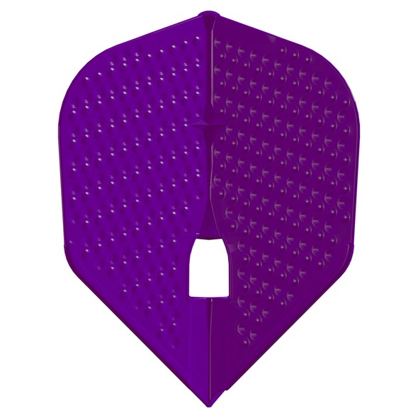 L-Style  L3d Dimpled Champagne Flights -NEW COLOR  Deep Purple