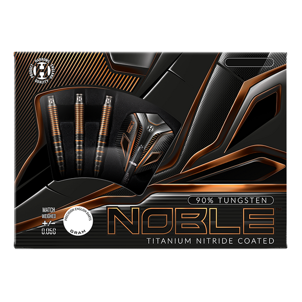 Harrows NOBLE 20g 90% tungsten -  2ba Soft Tip Darts