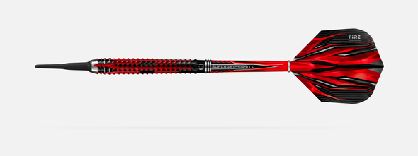 Harrows FIRE INFERNO 18g 90% tungsten -  2ba Soft Tip Darts