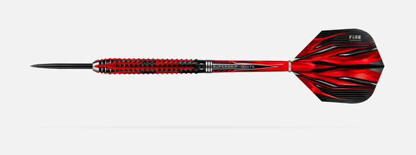 Harrows FIRE INFERNO 26g 90% tungsten -  Steel Tip Darts