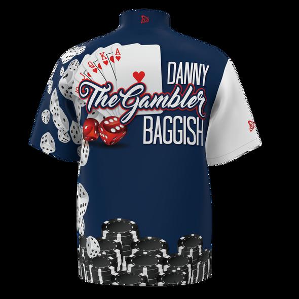 "Galaxy Apparel ""The Gambler""  Danny Baggish  Custom Jersey"