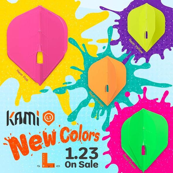 L-style KAMI PRO Champagne Flights - Standard Neon Yellow
