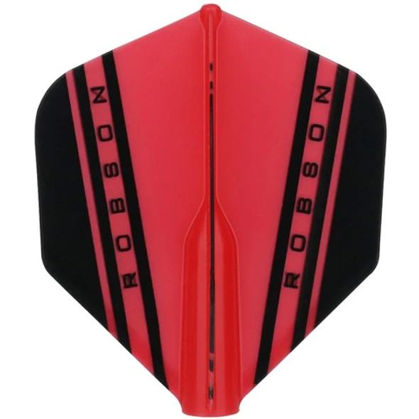 Robson Plus V Dart Flights Standard - Red