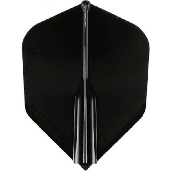 Robson Plus Dart Flights Shape Black