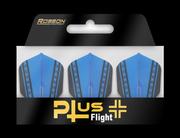 Robson Plus V Dart Flights Shape Blue