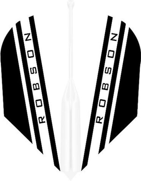 Robson Plus V Dart Flights Shape White