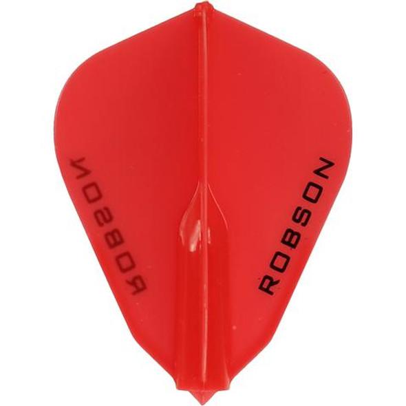 Robson Plus Dart Flights F Shape Red
