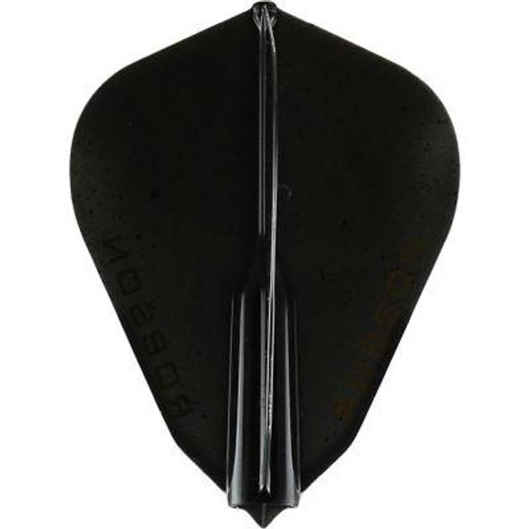 Robson Plus Dart Flights F Shape Black