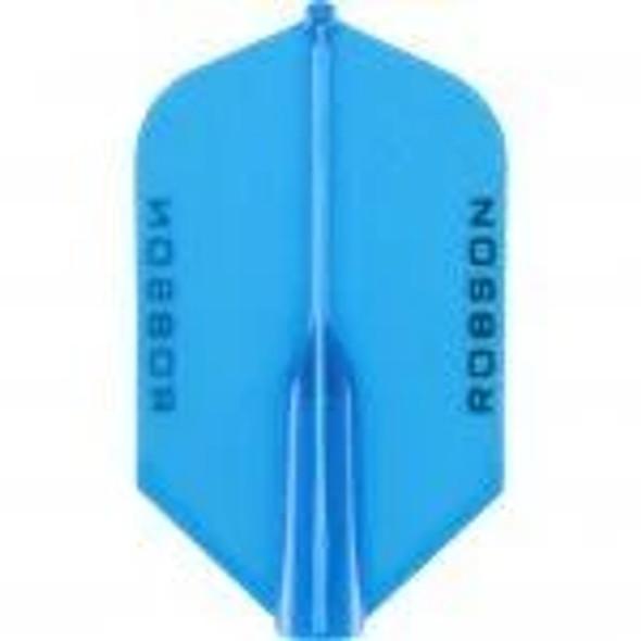 Robson Plus Dart Flights SLIM Blue