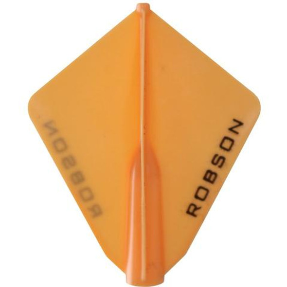 Robson Plus Dart Flights Astra Orange