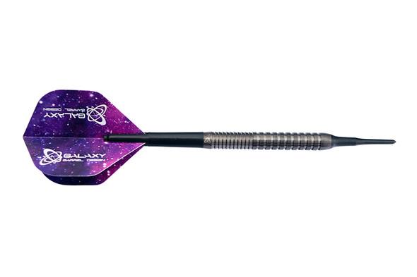 Galaxy Barrels Nick Linberg 18g Soft Tip Darts 90% - Black