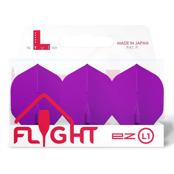 L-Style EZ L1 Standard Flights - Deep Purple