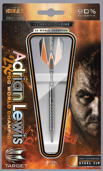Target 25g Adrian Lewis Gen 1 Steel Tip
