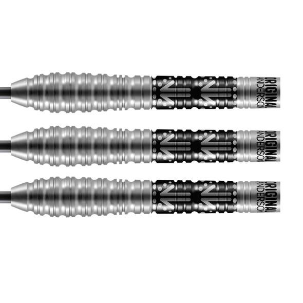 SHOT Kyle Anderson Battler Steel Tip Darts 80% - 24gm