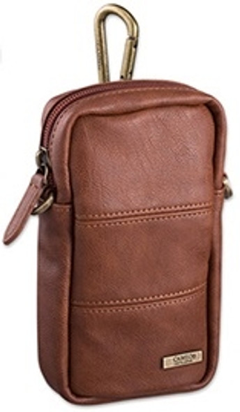 Cameo Leather BORDER SLIM with Drop Sleeve - Brown
