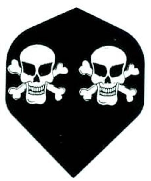 19g Aluminum Steel Tips Darts Skull Skeleton Pattern Dart Flights Shaft Dart ..