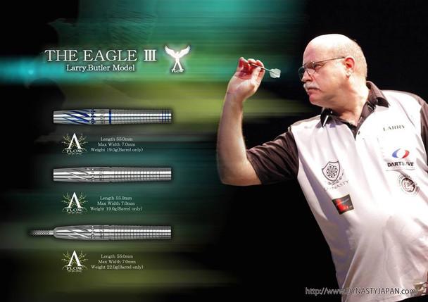 """Dynasty Larry Butler """"Eagle III"""" 2ba Soft Tip Darts - 19g"""