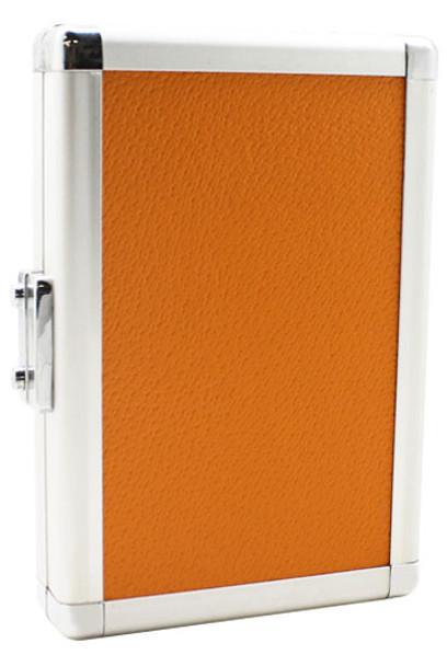 Orange L-Style Al-Colors aluminum dart case