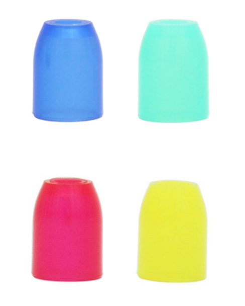 L-style Champagne rings for soft tip darts in various colors