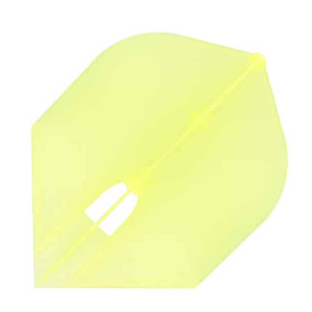 Rocket shape Champagne L-Flight in clear yellow