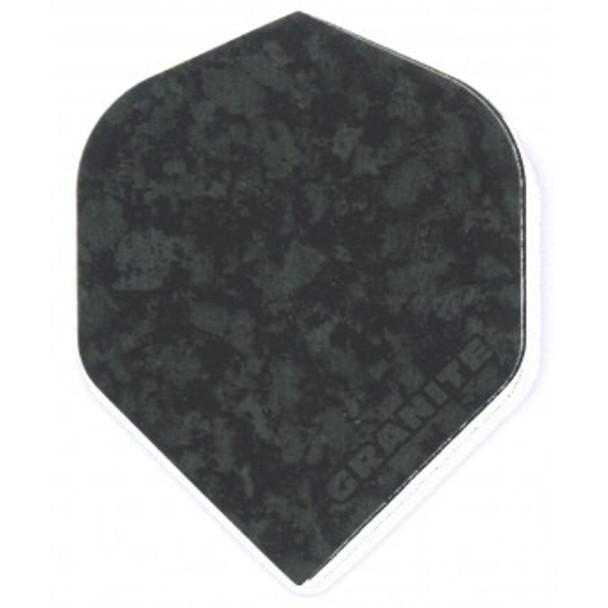 Ruthless Granite Standard Dart Flights - Black