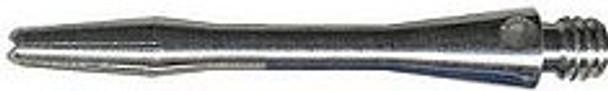 Inbetween silver aluminum dart shafts