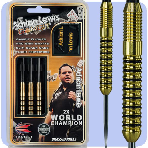 Target Adrian Lewis Brass Steel Tip 18g Darts