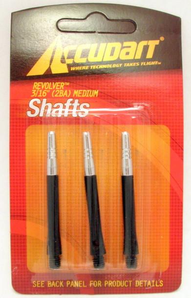 Accudart Revolver Spinning 2ba Medium Aluminum Dart Shafts