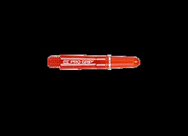 Target Pro Grip Spinning Polycarbonate - Red Short