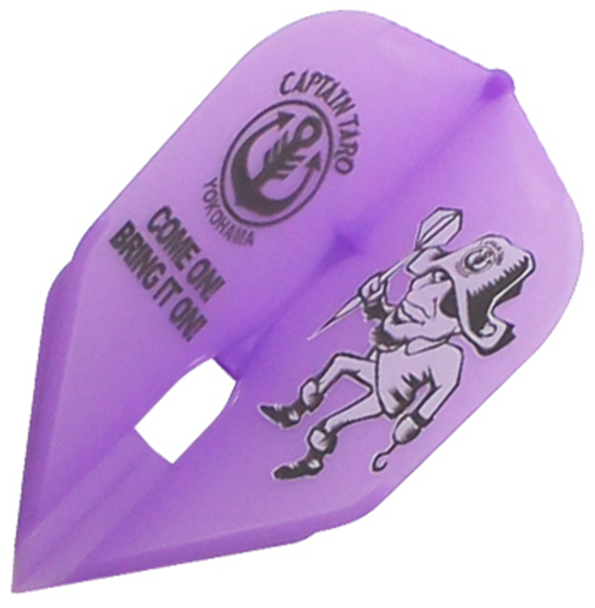 Small Standard shape Champagne T-Arrow Purple