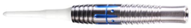 ONE80 Jetstream Tornado 2ba Soft Tip Darts - 16g, Blue Coating