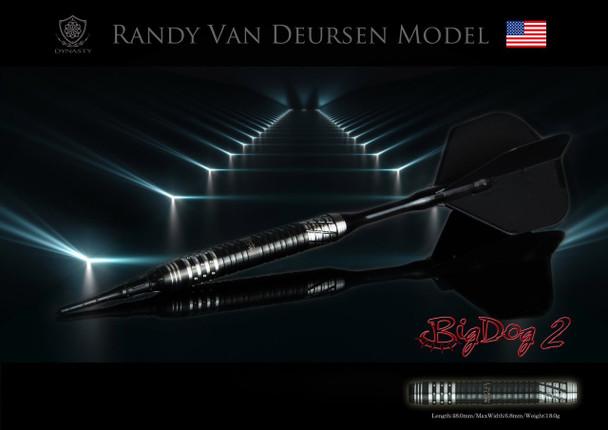 "Dynasty ""Big Dog 2"" Randy Van Deursen Soft TIp Darts"