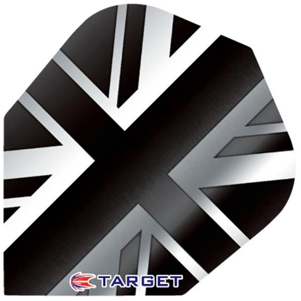 Target Pro 100 Std Flights - British Flag