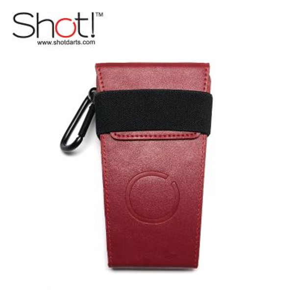 Shot!  Vertex Dart Case - Burgundy