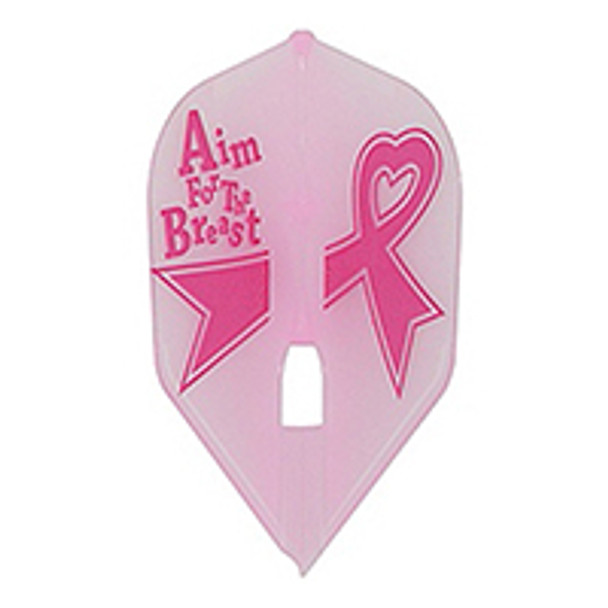 L-Style L1c Aim for the Breast Pink Champagne Flights, Breast Cancer Awareness, Standard