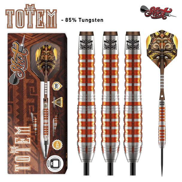 Shot Totem  3 Series Steel Tip Darts - 23g