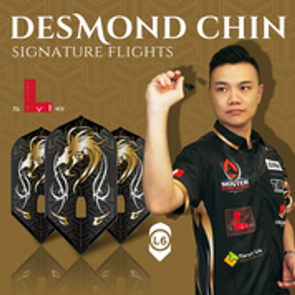 L-Style Desmond Chin L6c Signature Champagne Flights - black