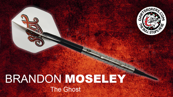 Brandon Moseley THE GHOST Soft Tip Darts by Shot