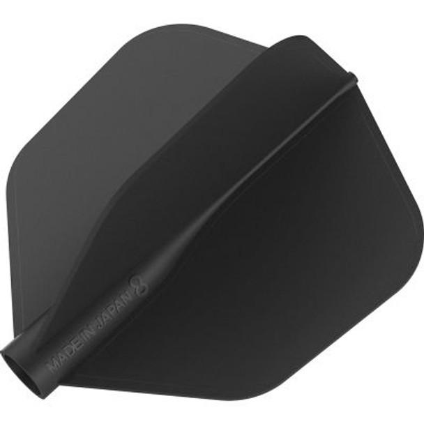 Target 8 Flight Black Shape