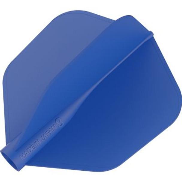 Target 8 Flight Blue Shape