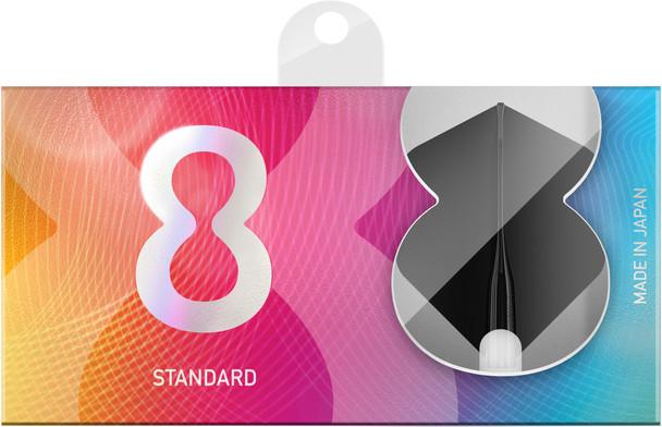 Target 8 Flight Black Standard