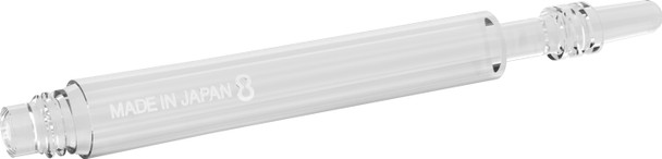 Target 8 Flight Spinning Shaft Medium Clear (33mm)